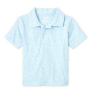 NWT Children's Place Cloud Blue Polo Shirt 5T